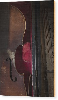 Wood Print featuring the photograph Silent Sonata by Amy Weiss