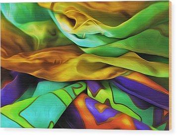 Silken Wood Print