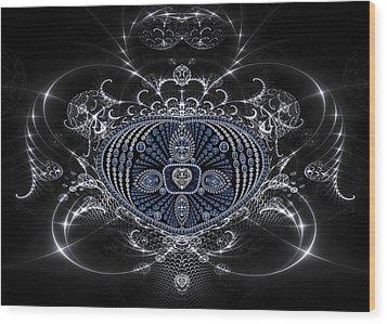 Silver Goblet Wood Print