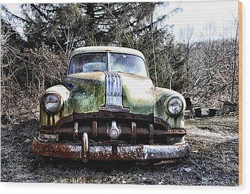 Silver Streak 8 Wood Print by Bill Cannon