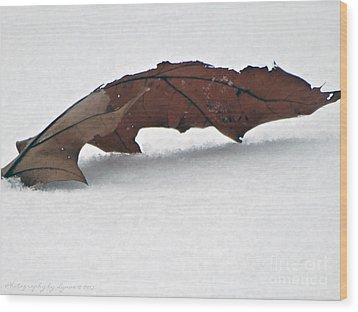 Simple Wood Print by Gena Weiser