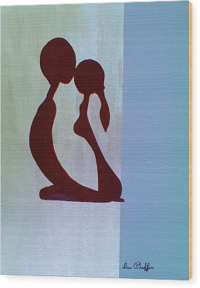 Simplicity Wood Print by Lew Griffin