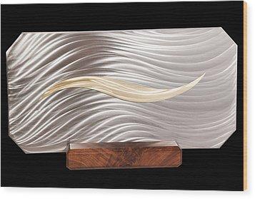 Simplicity Wood Print by Rick Roth