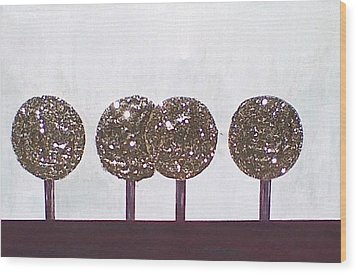 Simply Tree's Wood Print by Lew Griffin