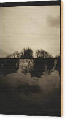 Simulacrum -10.6.7 Wood Print by Alex Zhul