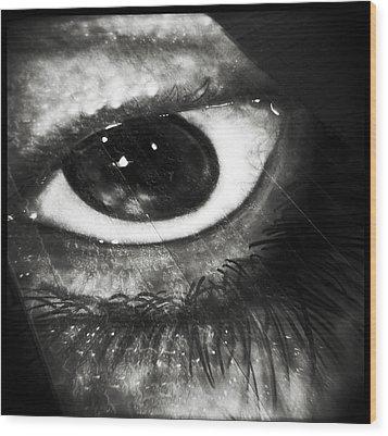Simulacrum -4.6 Wood Print by Alex Zhul