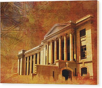 Sindh High Court Wood Print by Catf
