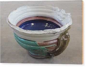 Sink Series 0027 Wood Print by Richard Sean Manning