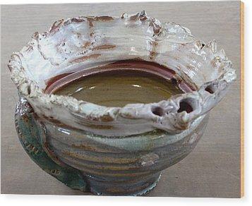 Sink Series 0028 Wood Print by Richard Sean Manning