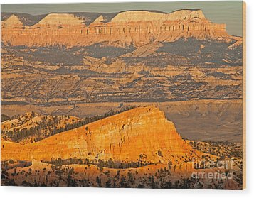 Sinking Ship Sunset Point Bryce Canyon National Park Wood Print