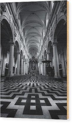 Sint Walburgakerk Wood Print by Joan Carroll