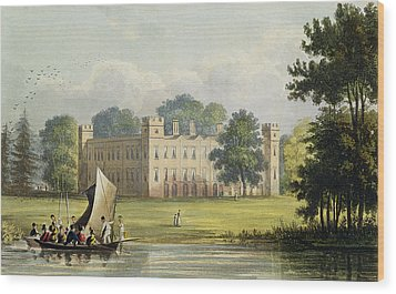 Sion House, From R. Ackermanns Wood Print by John Gendall