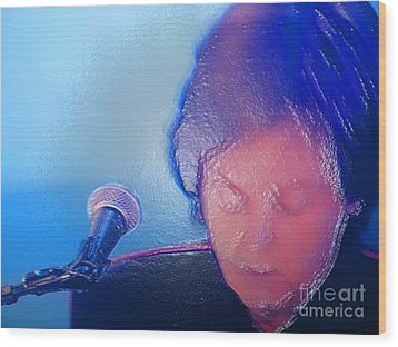 Sir Paul W Rapped Wood Print by Tina M Wenger