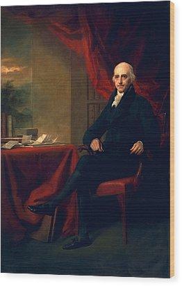 Sir William Miller, Lord Glenlee Wood Print by Sir Henry Raeburn