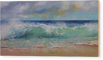 Sirens Wood Print by Michael Creese