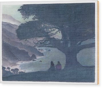 Sisters Wood Print by Mark  Leavitt