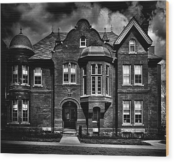 Sisters Of St. Joseph Heritage Building Toronto Canada Wood Print by Brian Carson