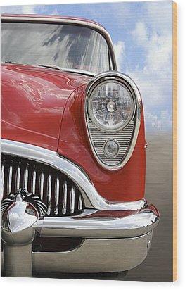 Sitting Pretty - Buick Wood Print by Mike McGlothlen