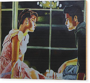 Sixteen Candles Wood Print by Jeremy Moore