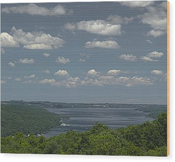 Skaneateles Lake Wood Print