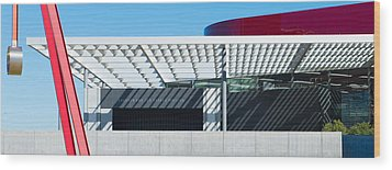 Skokos Pavilion Dallas Tx Wood Print by Darryl Dalton