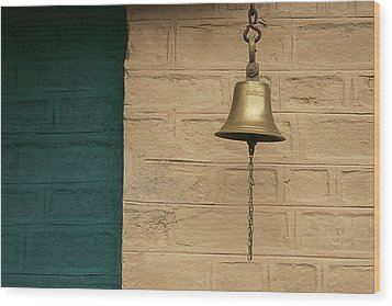 Skc 0005 Doorbell Wood Print