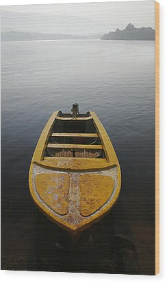 Skc 0042 Calmness Anchored Wood Print
