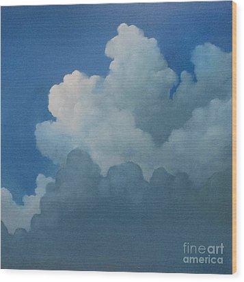 Sky Art Wood Print by Cynthia Vaught
