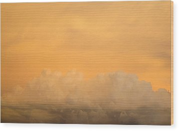 Sky Fire 004 Wood Print by Tony Grider