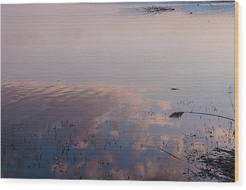 Sky In The Water Wood Print by Sergey Simanovsky