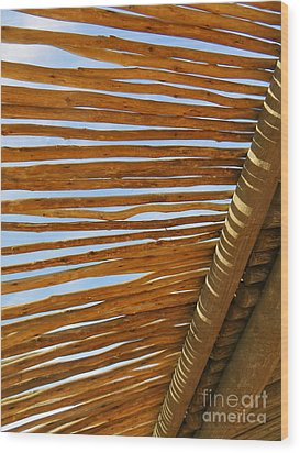 Wood Print featuring the photograph Sky-lined  by Joy Hardee