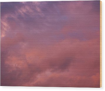 Wood Print featuring the photograph Sky Song by Laurie Stewart