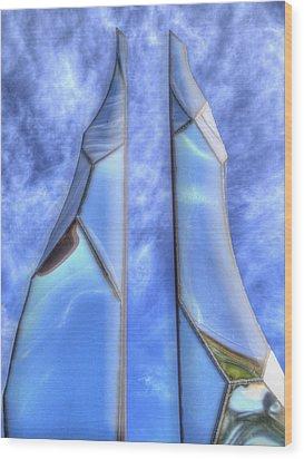 Skycicle Wood Print by Paul Wear