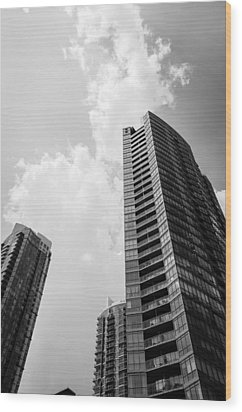 Skyscraper Wood Print by BandC  Photography