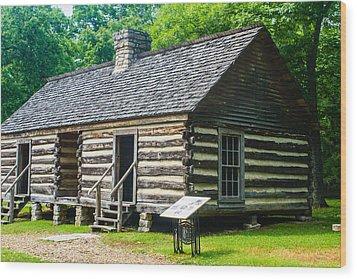 Slave Quarters Wood Print