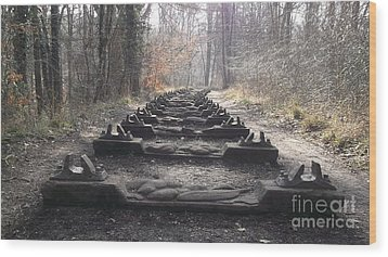 Sleepers In The Woods Wood Print by John Williams