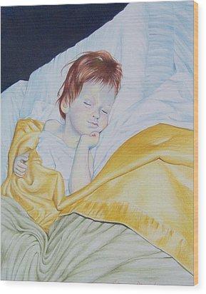Sleeping Beauty Wood Print by Constance Drescher