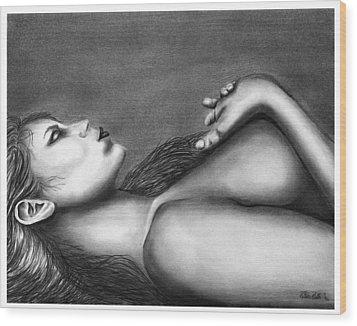 Sleeping Beauty  Wood Print by Peter Piatt