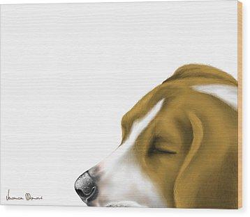 Sleeping Wood Print by Veronica Minozzi