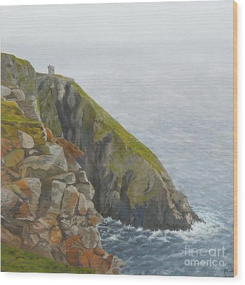 Slieve League County Donegal Wood Print