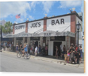 Sloppy Joes Key West 2 Wood Print