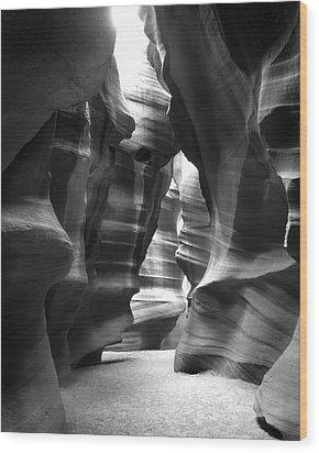 Slot Canyon 1 Wood Print by Mike McGlothlen