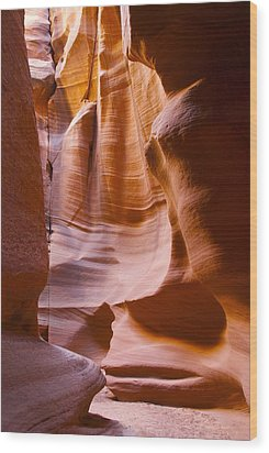 Slot Canyon 3 Wood Print by T C Brown