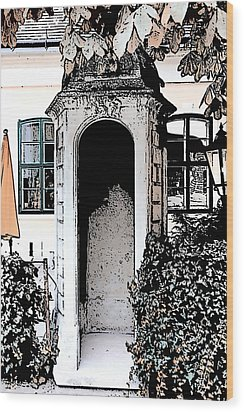 Wood Print featuring the photograph Small Alcove by Cecil Fuselier