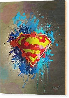Smallville Wood Print