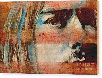Smells Like Teen Spirit Wood Print