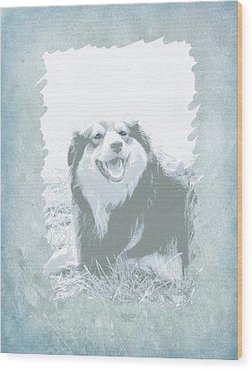 Smile Wood Print by Ann Powell
