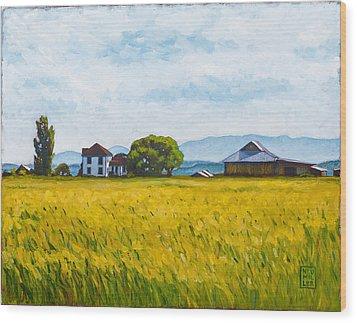 Smith Farm Wood Print
