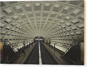 Smithsonian Station Wood Print