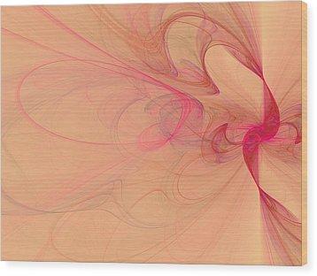 Smoke Wood Print by David Ridley